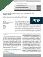 Ultrasonics Sonochemistry