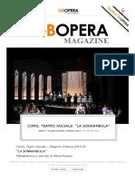 """Como, Teatro Sociale_ """"La Sonnambula"""""""