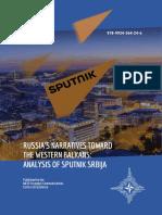 Analysis of Sputnik Serbia