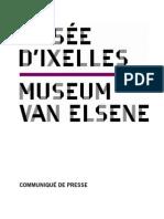 Programme des expositions 2011 du Musée d'Ixelles