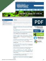 Maestria en Desarrollo Territorial - UTN_Materiais