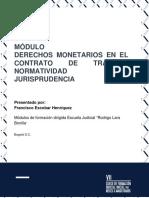 Modulo 2 - Derechos Monetarios en el Contrato de Trabajo (1)