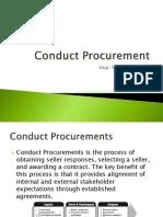 Conduct Procurement
