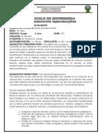 protocolo de laparoscopia