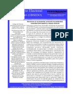 Boletin 2 elecciones y pandemia