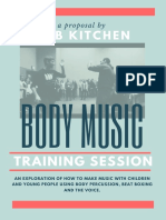 Body Music Training Session