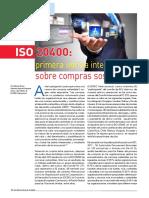 ISO 20400 Norma sobre Compras Sostenibles