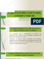CÁLCULO MECÁNICO DEL CONDUCTOR III