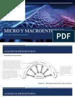 Micro y macroentorno Camilo Aguilar