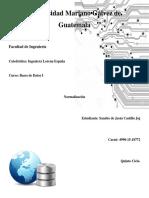 Bases de datos normalización