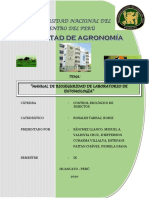 Manual de Bioseguridad de Laboratorio de Entomología