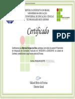 CERTIFICADO 8 seminario