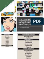 Aula - FARMACOLOGIA DE ANSIOLÍTICOS E HIPNÓTICOS - II