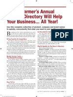 Annual Buyer's Directory 2010