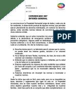 COMUNICADO SLP2 007
