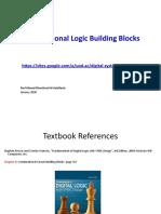 05 Combinational Logic Building Blocks
