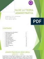 Historia de la Teoria Administrativa