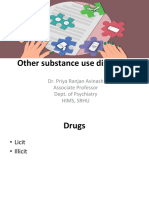 Other substance use disorders