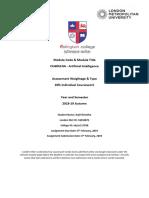 A18 CU6051NA A1 CW Coursework 16034872 Anjil Shrestha