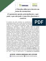 INFORMAÇÕES PMU DECRETO 25.05.2020
