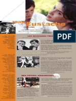 Plaquette Jean Eustache (par Jean Douchet)