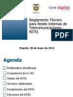 Presentación RITEL 2008