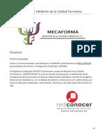 mecaforma.com-MECAFORMA AC  Medición de la Calidad Formativa