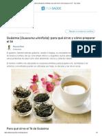 Guásima (Guazuma ulmifolia)_ para qué sirve y cómo preparar el té - Tua Saúde