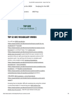 Top 52 GRE Vocabulary Words - Kaplan Test - Copy - Copy (2).pdf