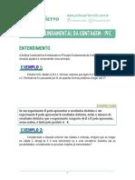 00 - Princípio Fundamental da Contagem (PFC) - Teoria