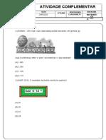 1ª LISTA DE EXERCÍCIOS - 6º ANO MÉRITO