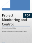 Project Monitoring and Control(2)