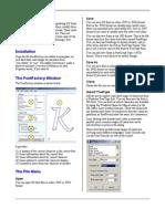 Font Factory Doc