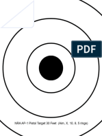 AP-1 for Letter Sized Paper With Smaller Aiming Ring