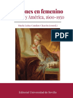 Pasiones en femenino. Europa y América, 1600-1950