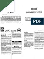 Manual GS500