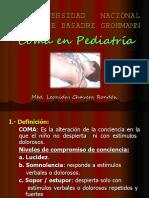 Coma en Pediatria