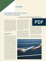 Aplicabilidad de la transmisión de empresa a las administraciones publicas