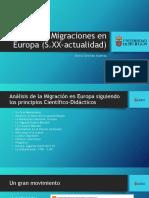 Las Migraciones en Europa (S