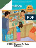SESION 3°-4° MATEMATICA COMPARAMOS LOS PRECIOS DE LOS ALIMENTOS QUE FORTALECEN NUESTRO SISTEMA INMUNOLÓGICO