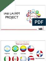 IAB - Penetración Internet Paises Latam