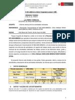 INFORME DE FORMATO 1 Y 2 RVM N°. 98- 2020