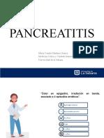 Presentación final Pancreatitis - Farmaco