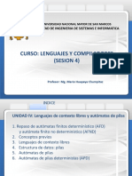 lenguajes y compiladores  sesion 4     27-01-2020 version 1.0 ultimo