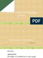 RRSS Reciclaje