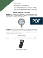 Características de los transductores
