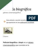 Película biográfica - Wikipedia, la enciclopedia libre