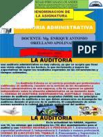 SEMANA 02 DE LA ASIGNATURA DE AUDITORIA ADMINISTRATIVA 2020 - I.pptx