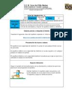 Guía Equlibrio estático y dinámico