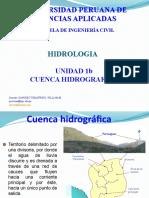 Unidad 1b Hidrologia_2020-1